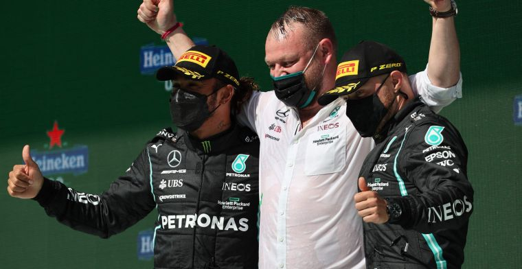 Column | Mercedes blijkt in 2021 tot nu toe veel efficiënter dan Red Bull Racing