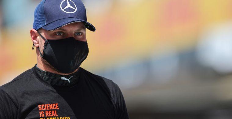 Doet Mercedes een Red Bull-actie? 'Bottas wordt nog dit seizoen ontslagen'