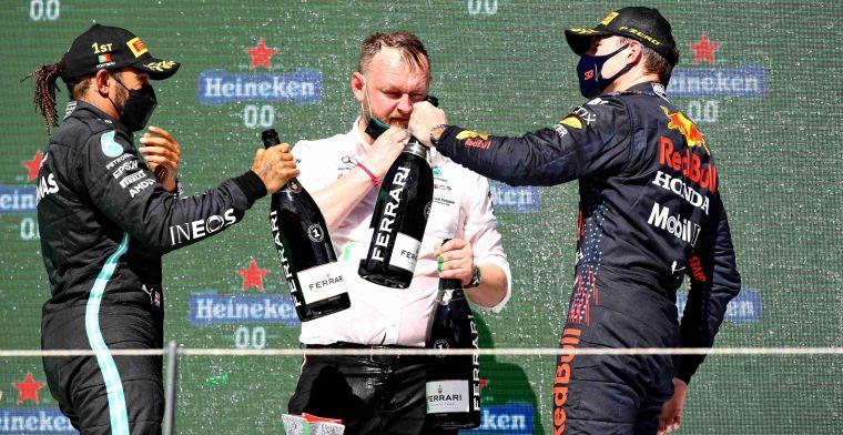 Mercedes ziet respect tussen Verstappen en Hamilton: 'Niet over de schreef gegaan'