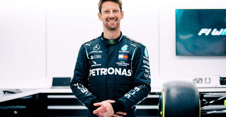 BREAKING: Grosjean krijgt zijn beloofde test in de wagen van Mercedes