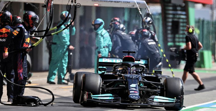 Mercedes legt uit hoe een Verstappen in vorm Bottas wist te verschalken