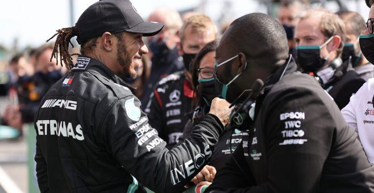 Wie gaat aan kop in de strijd tussen Hamilton en Verstappen in F1 Power Rankings?