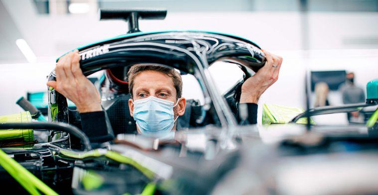 Grosjean kan zijn geluk niet op: 'Rijden voor Mercedes wordt een unieke ervaring'