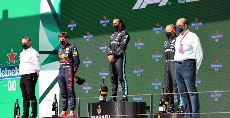 Verstappen's frame of reference in title battle: 'Hamilton has set the benchmark'