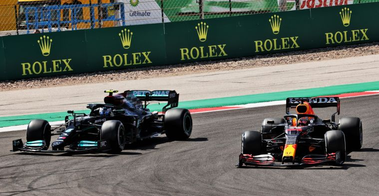 'With a perfect lap from Verstappen the gap was bigger'