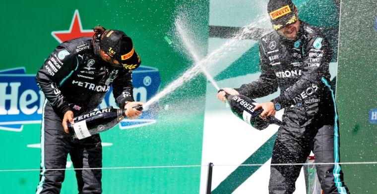 Wolff prefers Hamilton to Bottas: Deserves to be world champion