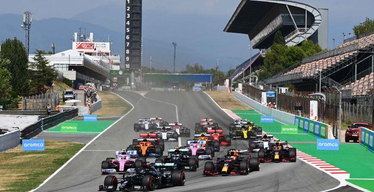 Na Spaanse GP weten we wie het snelste is: De baan kent bijna geen geheimen