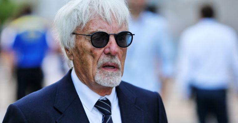 Ecclestone: 'Sprintraces geven geen getrouw beeld van wie de beste coureur is'