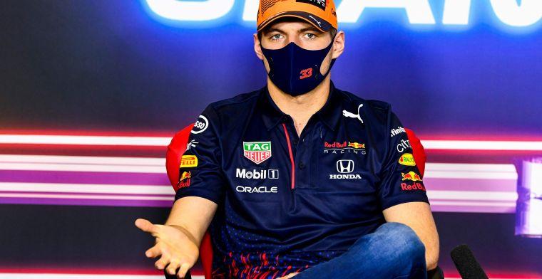 Verstappen: 'Lewis maakte ook een fout in Imola, maar had geluk met de rode vlag'
