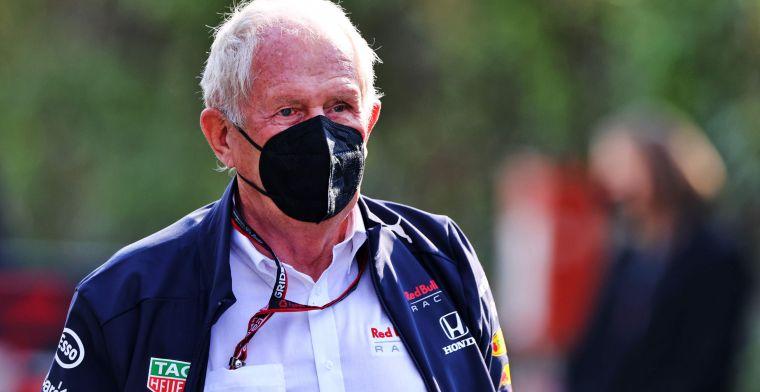 Marko nog altijd boos op 'Mercedes-kamp': 'Hamilton hadden ze een gunst bewezen'