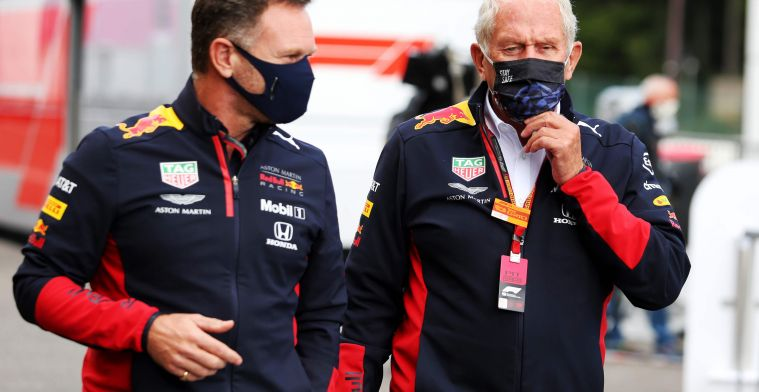 Marko hoopt op voordeel ten opzichte van Mercedes: 'Dan verliezen zij snelheid'