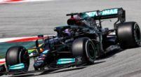 Afbeelding: Uitslag VT1 Barcelona: Hamilton en Verstappen ontlopen elkaar nauwelijks