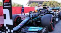 Afbeelding: Hamilton pakt honderdste pole position in F1-carrière, Verstappen héél dichtbij