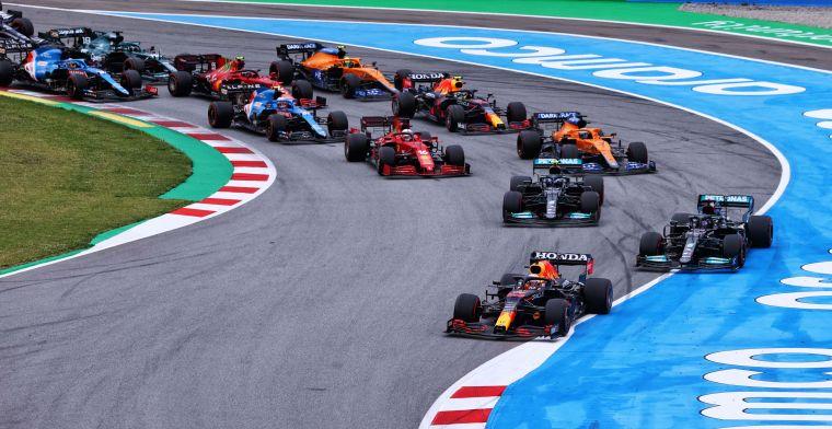 Dit is de stand in het constructeurskampioenschap na de Grand Prix van Spanje