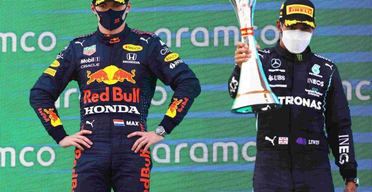 Hamilton: Heb vandaag veel geleerd over Verstappen