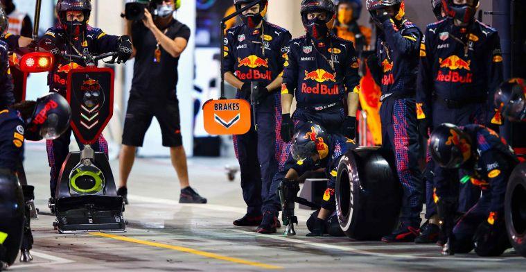 Red Bull óók tweede in de strijd om dit klassement!