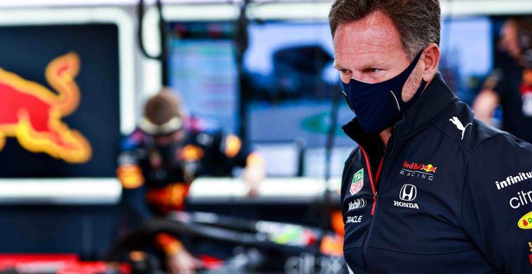 Horner: 'Mercedes kon Verstappen zo dicht volgen zonder banden te verslijten'