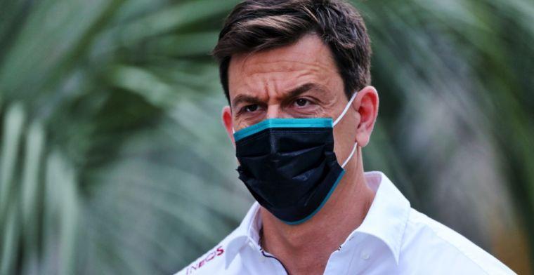 Wolff vol lof over strategie Mercedes: 'Briljant'
