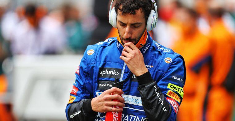 Ricciardo happy with race: I had good problems