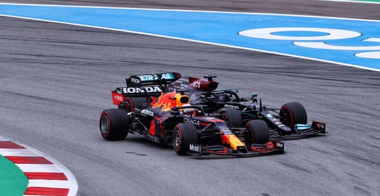 Verstappen verliest van Hamilton door strategische meesterzet van Mercedes
