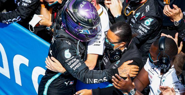 Hamilton wil snel een nieuw contract tekenen: 'Dat heeft mijn hele winter verpest'