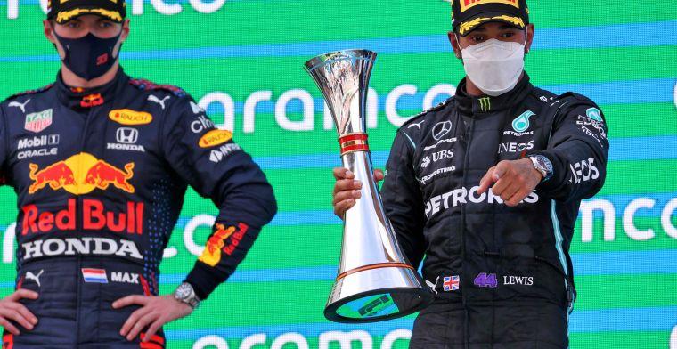 Coureursklassement na Spaanse GP: Verstappen en Hamilton in eigen duel op afstand