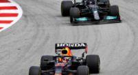 Afbeelding: 'Hamilton maakte de bochten korter dan Verstappen, zo won hij de Spaanse GP'
