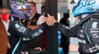 Afbeelding: Bottas houdt Hamilton op ondanks teamorder: 'Hij werd even mijn beste vriend'