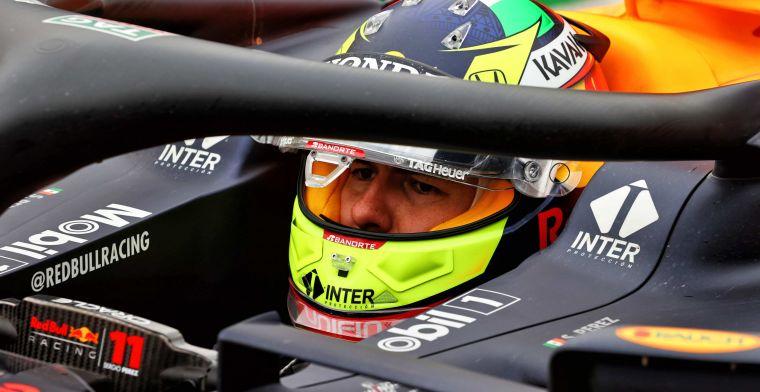 Perez baalt van zichzelf: ''Het kost me te lang om op snelheid te komen''