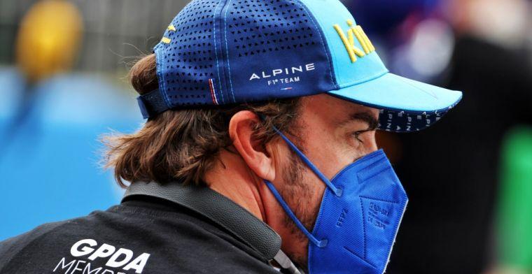 Alonso schiet tekort: 'Ik geef honderd procent, maar dat is niet genoeg