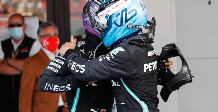 Bottas nog altijd de perfecte nummer twee voor Mercedes: ''Wie is dan Russell?''
