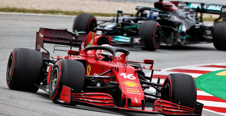 Does Leclerc copy the action of Verstappen and Alonso? ''This was not planned''