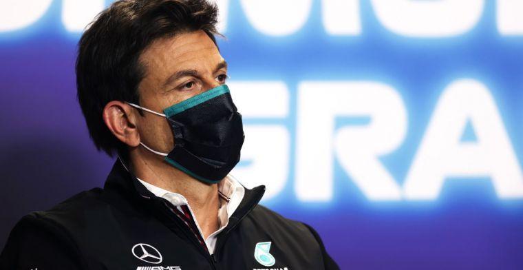 Wolff: 'Drie jaar is niet genoeg om een competitieve krachtbron te maken'