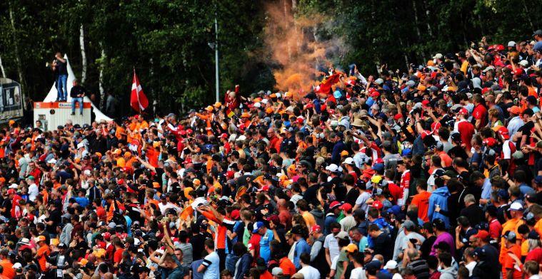 'Grand Prix van België mag race organiseren voor volle tribunes in augustus'