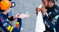 Afbeelding: Verstappen achter Hamilton én Leclerc: 'Hij maakt die bochten niet zo kort'