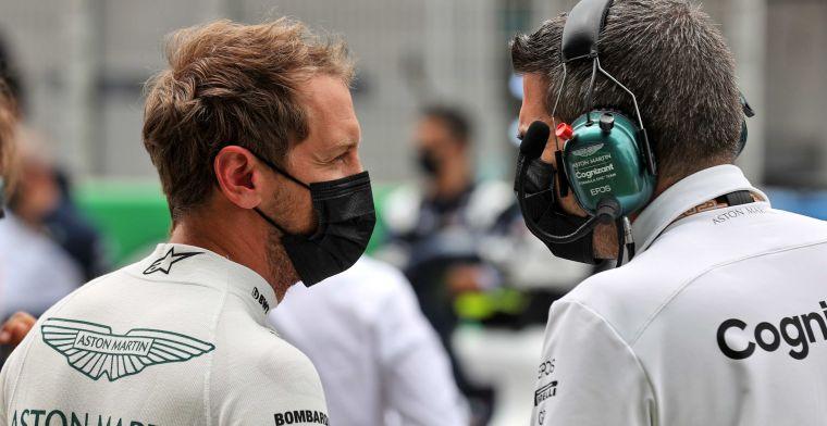 Vettel kritisch op zichzelf na eerste vier races: ''Ik mis echt wat snelheid''