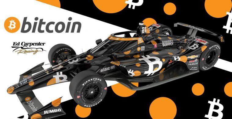Rinus van Kalmthout krijgt unieke 'Bitcoin-livery' voor de Indy 500