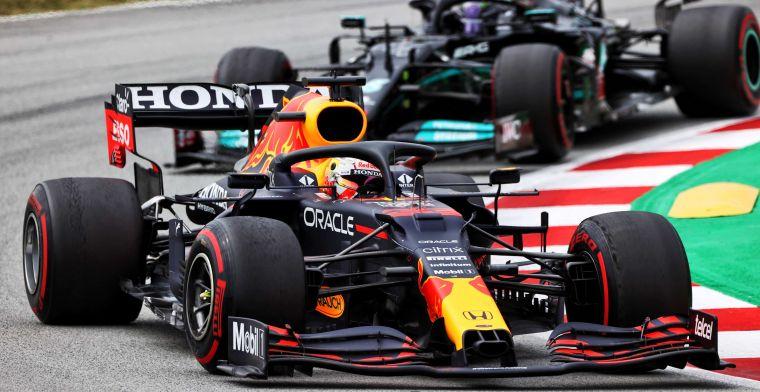 Strategie had niks uitgemaakt voor Verstappen: 'Dag van Mercedes'