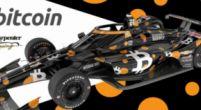 Afbeelding: Rinus van Kalmthout krijgt unieke 'Bitcoin-livery' voor de Indy 500