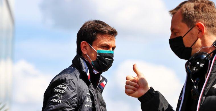 Wolff: Op zaterdag waait de wind overduidelijk in de richting van Red Bull