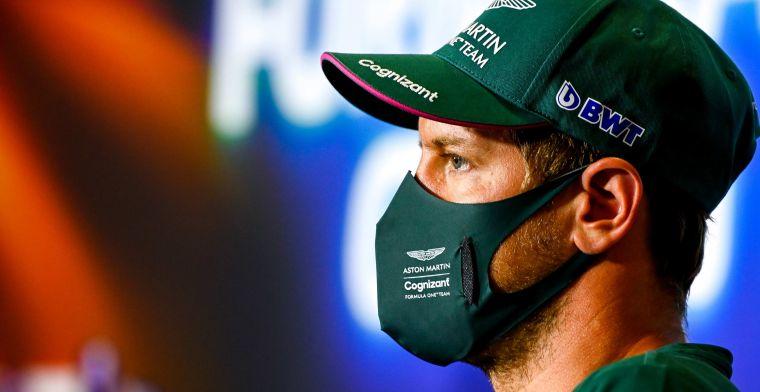 Aston Martin houdt vertrouwen in Vettel: 'Komst van Hulkenberg zegt niks'