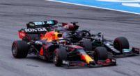 Afbeelding: Verstappen en Hamilton houden elkaar heel: 'Allemaal bang voor de stewards'
