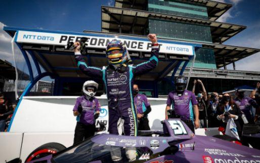 IndyCar-kwalificatie: Grosjean pakt eerste pole position in tien jaar tijd!