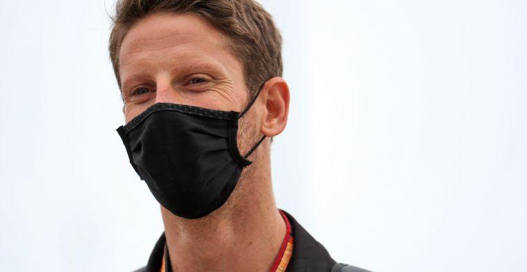Romain Grosjean finally happy again after IndyCar pole position