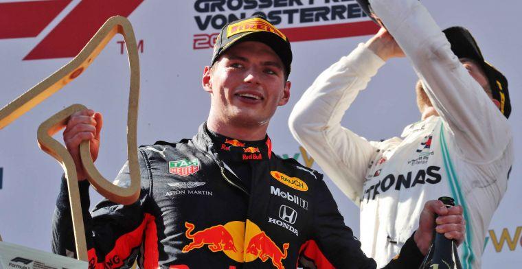 Marko: 'Overwinning Verstappen mooiste moment op de Red Bull Ring'