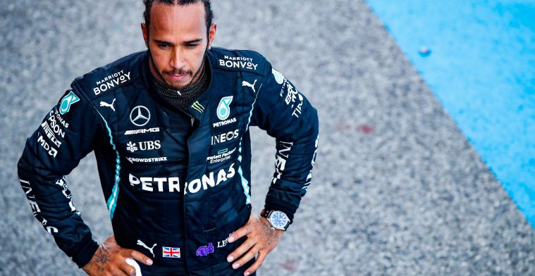 Hamilton: 'I used to do that, but to me it was a pointless exercise'