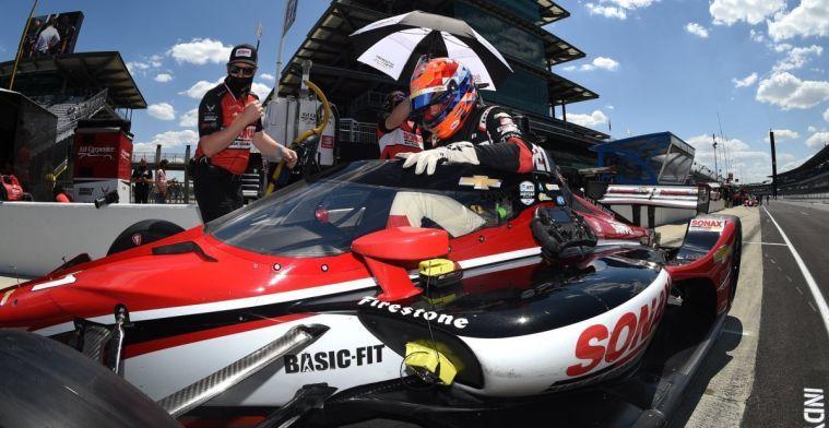 Van Kalmthout imponeert en pakt eerste IndyCar-zege uit carrière!