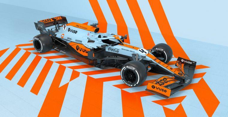 McLaren reveals special livery for Monaco Grand Prix