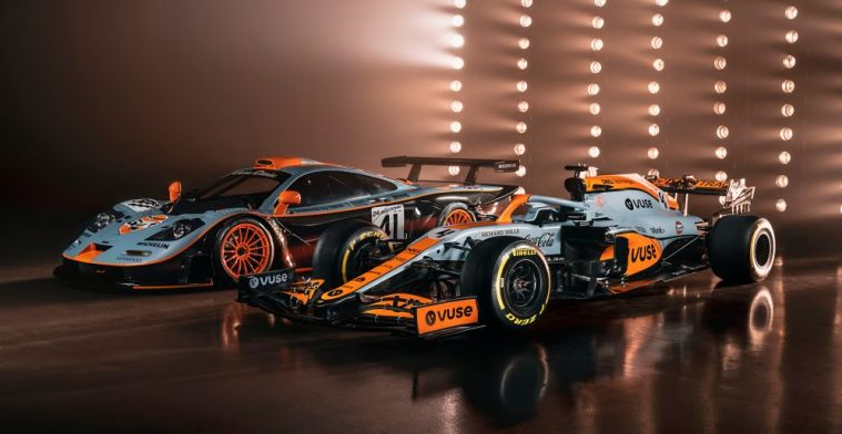 Norris reacts to special livery: 'Zak Brown wasn't convinced'