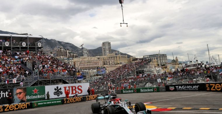 This is the weather forecast for the Monaco Grand Prix